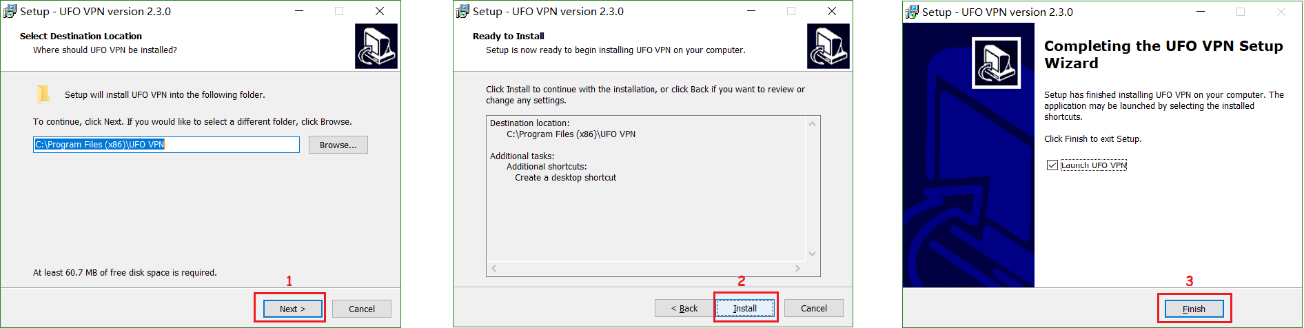 install UFO VPN on Windows
